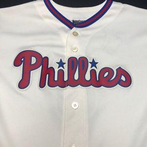 Majestic Shirts & Tops - Kids Philadelphia Phillies Ryan Howard Jersey